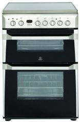 Indesit 60cm Wide Cooker Double Oven ID60C2XS (Stainless Steel)